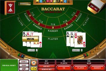 spela baccarat online