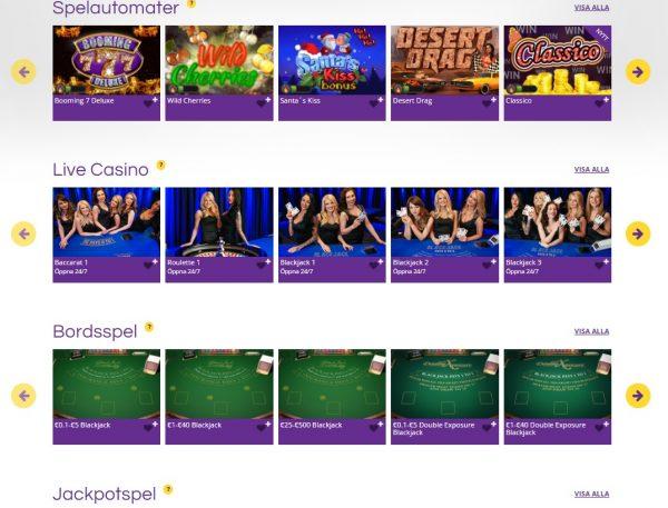 yako casino slots och live casino