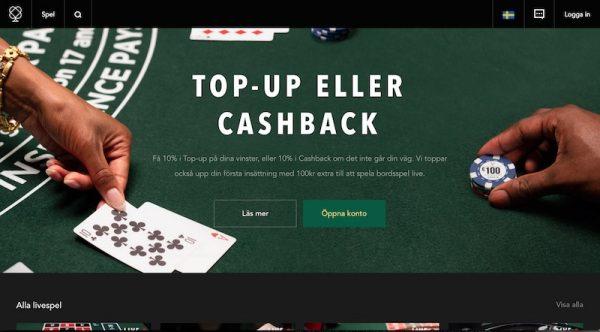 Få top-up/cashback från Codeta