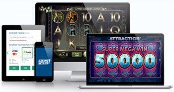 casinowilds i mobilen