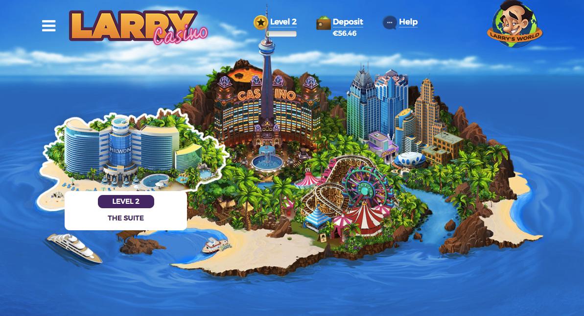 larry casino online