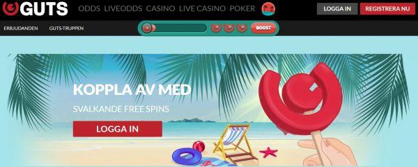 guts casino sommarkampanj